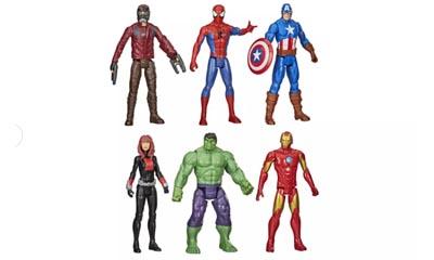 Half Price pack of 6 Marvel Avengers Toys