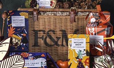 Win 1 of 2 Halloween Fortnum & Mason Hampers
