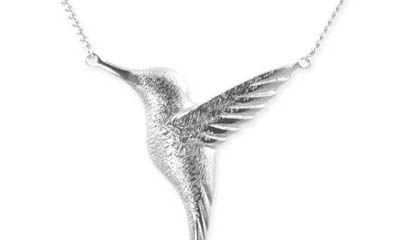Win a Sterling Silver Hummingbird Necklace