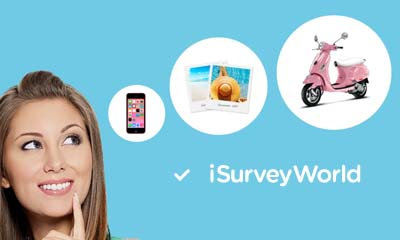 Free Gifts & Cash from iSurvey World