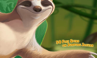 50 Free Spins on Jumping Jaguar