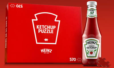 Free Heinz Ketchup Red Puzzle