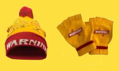 Free Knitted Hat & Mittens