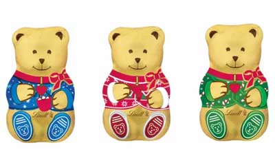 Free Lindt Chocolate Teddy Bear