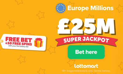 Free Europe Millions Bet Plus 10 Free Spins