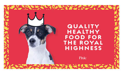 Free Luxury Dog Food from Pixie