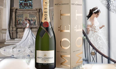 Win a Magnum Moet Champagne Bottle