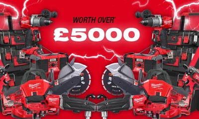 Win £5,000 worth of Milwaukee Tools