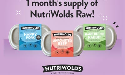 Win a month supply of NutriWolds Raw products