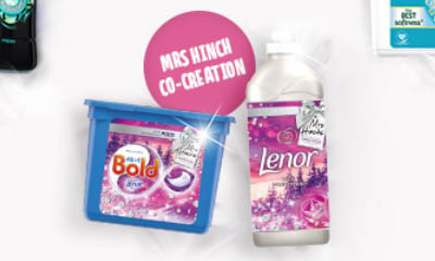 Free Mrs. Hinch's Winter Detergent Collection