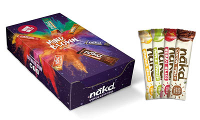 Free Nakd Mind Blown Snack Bar Boxes