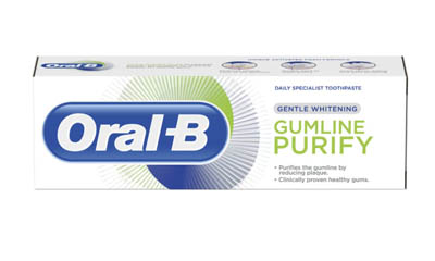 Free Oral-B Toothpaste Sample