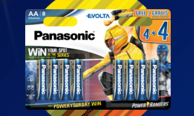Free Panasonic Battery Packs