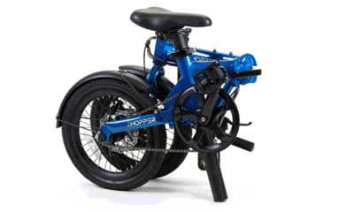 Win a Perry Hopper Electric Folding Bike