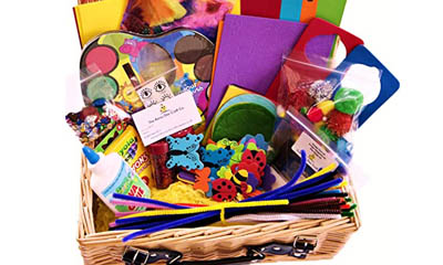 Win a Rainy Day Arts & Craft Hamper