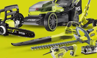 Win Ryobi Garden Tools