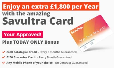 Free Trial of Savultra Card with £1,800 Benefits