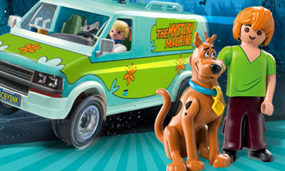 Free Scooby-Doo Play Sets