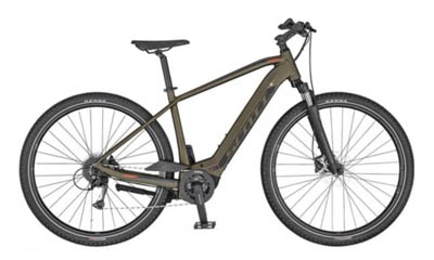 Win a Scott Sub Cross eRide 20 Electric Bike