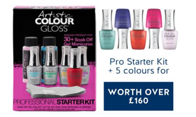 Win an Artistic Nail Design Pro Starter Kits