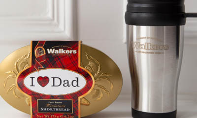 Win a Thermal Mug & Shortbread Tin & Walkers