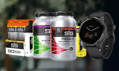 Win a Garmin Vivoactive 4S smart watch and SIS nutrition