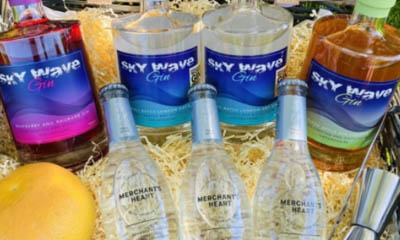 Win a Hamper of Gin from Sky Wave