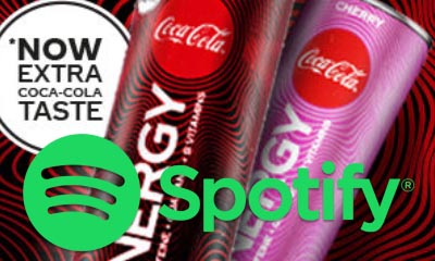 Free Spotify Premium from Coca-Cola Energy
