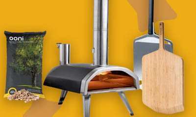 Win an Outdoor Pizza Oven Bundle