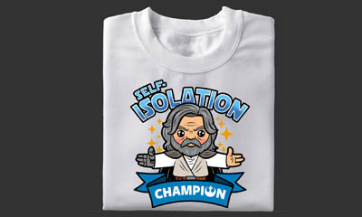 Free Star Wars Self-Isolation T-Shirt (Worth £9.99)