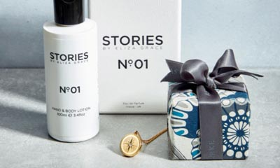 Free STORIES Parfums & Astley Clarke Jewellery