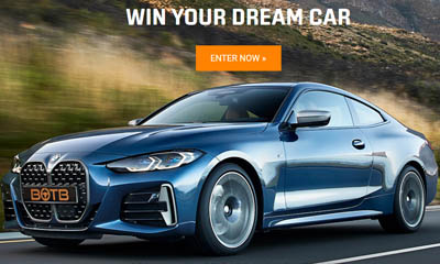 Win a Supercar of your Dreams