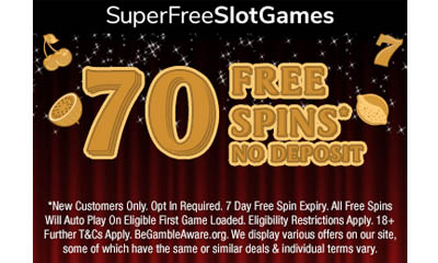 70 Free Spins