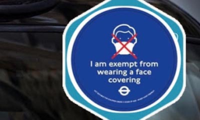 Free TFL Face Covering Exemption Badge