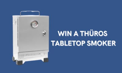 Win a THÜROS S1 Tabletop Smoker
