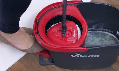 Free Vileda Turbo Spin Mop