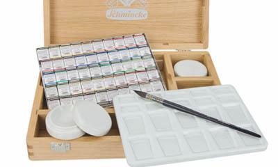 Win a £450 Schmincke Watercolour Set
