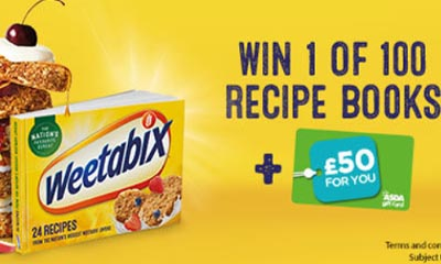 Free ASDA Gift Card & Weetabix Recipe Book