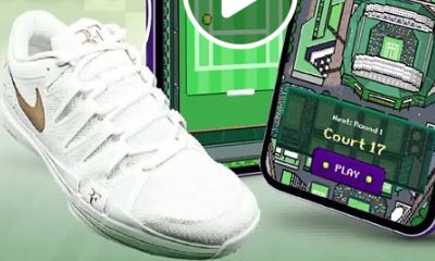 Free Signed Trainers, Caps & T-Shirts with Wimbledon
