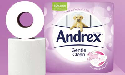 Free Andrex Toilet Rolls & Puppy Toy