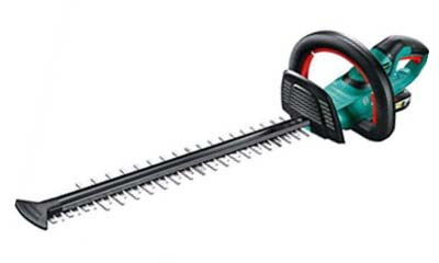 Win a Bosch Cordless Hedge trimmer