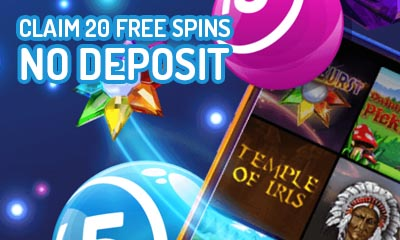 Free Play 20 Spins - No Deposit