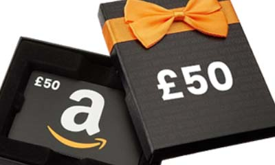 Free £50 Amazon Gift Cards