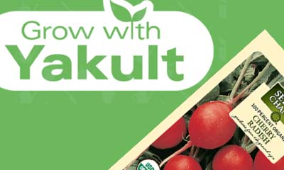 Free Grow with Yakult Vegetable Seed