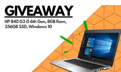 Win a HP EliteBook Laptop
