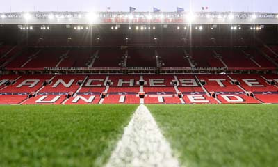 Free Kickaround at Old Trafford
