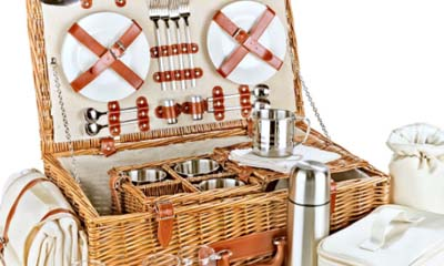 Win a Luxury Fitted Picnic Hamper Basket