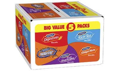Free McVitie's Biscuit Barrel Box