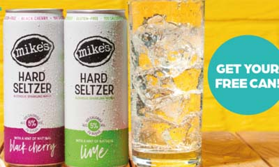 Free Mike's Hard Seltzer Alcohol Drink