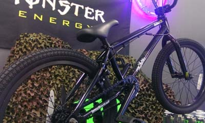 Free Monster Drinks Branded BMX Bikes